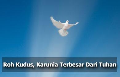 Komunitas Tritunggal Mahakudus | Dogma/Iman Katolik: Ketuhanan Roh Kudus